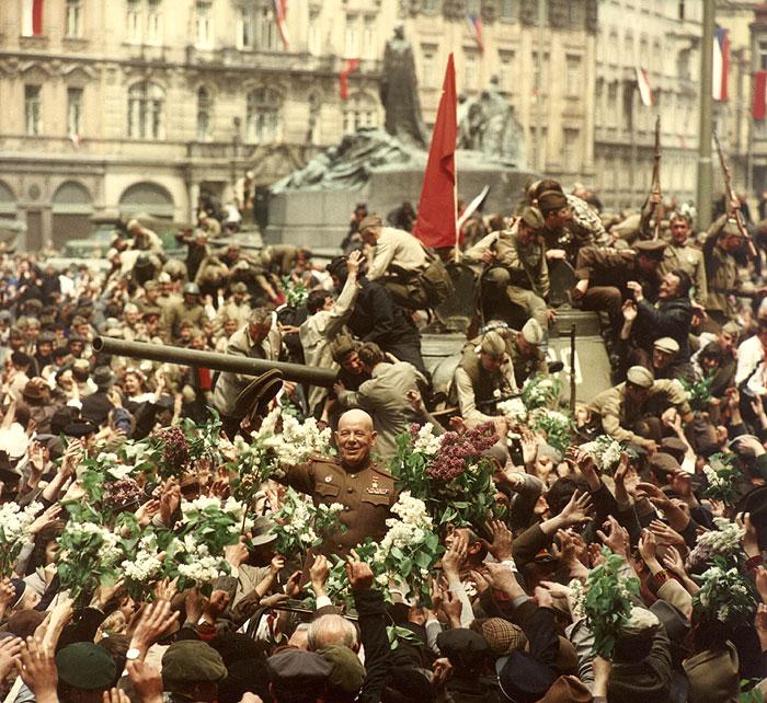 Výsledek obrázku pro osvobození Prahy