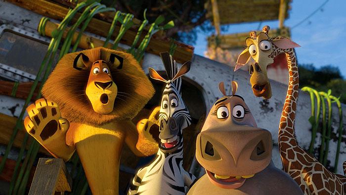 Madagaskar 2: Útek do Afriky (2008)
