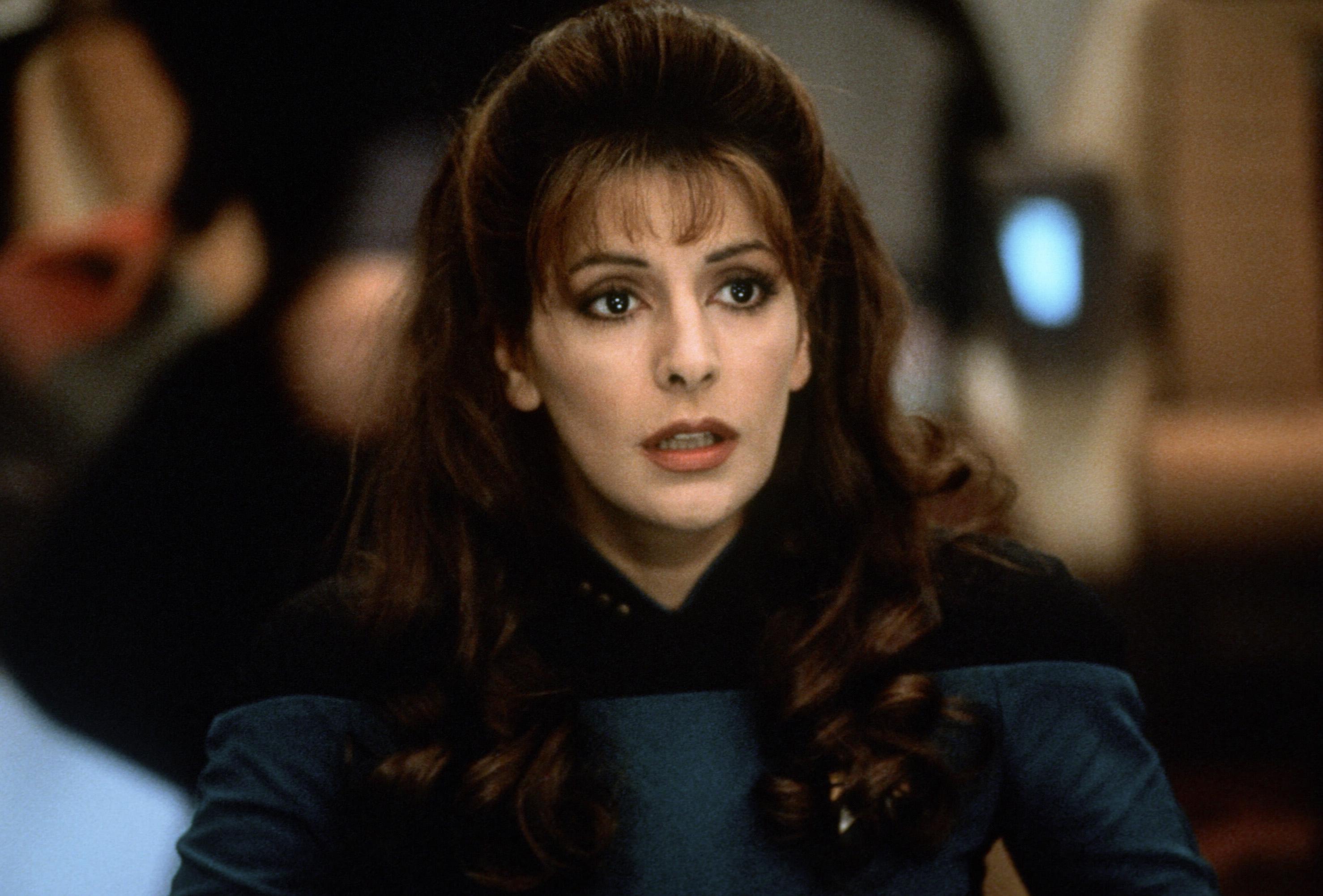 Marina sirtis counselor deanna troi star trek - 1 6