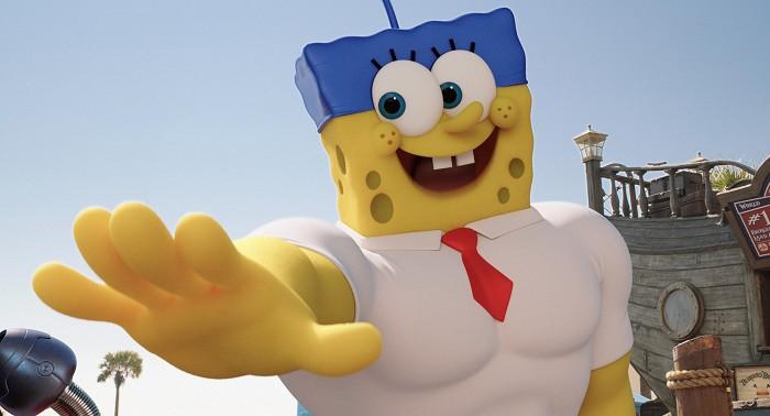SpongeBob vo filme: Hubka na suchu (2015)