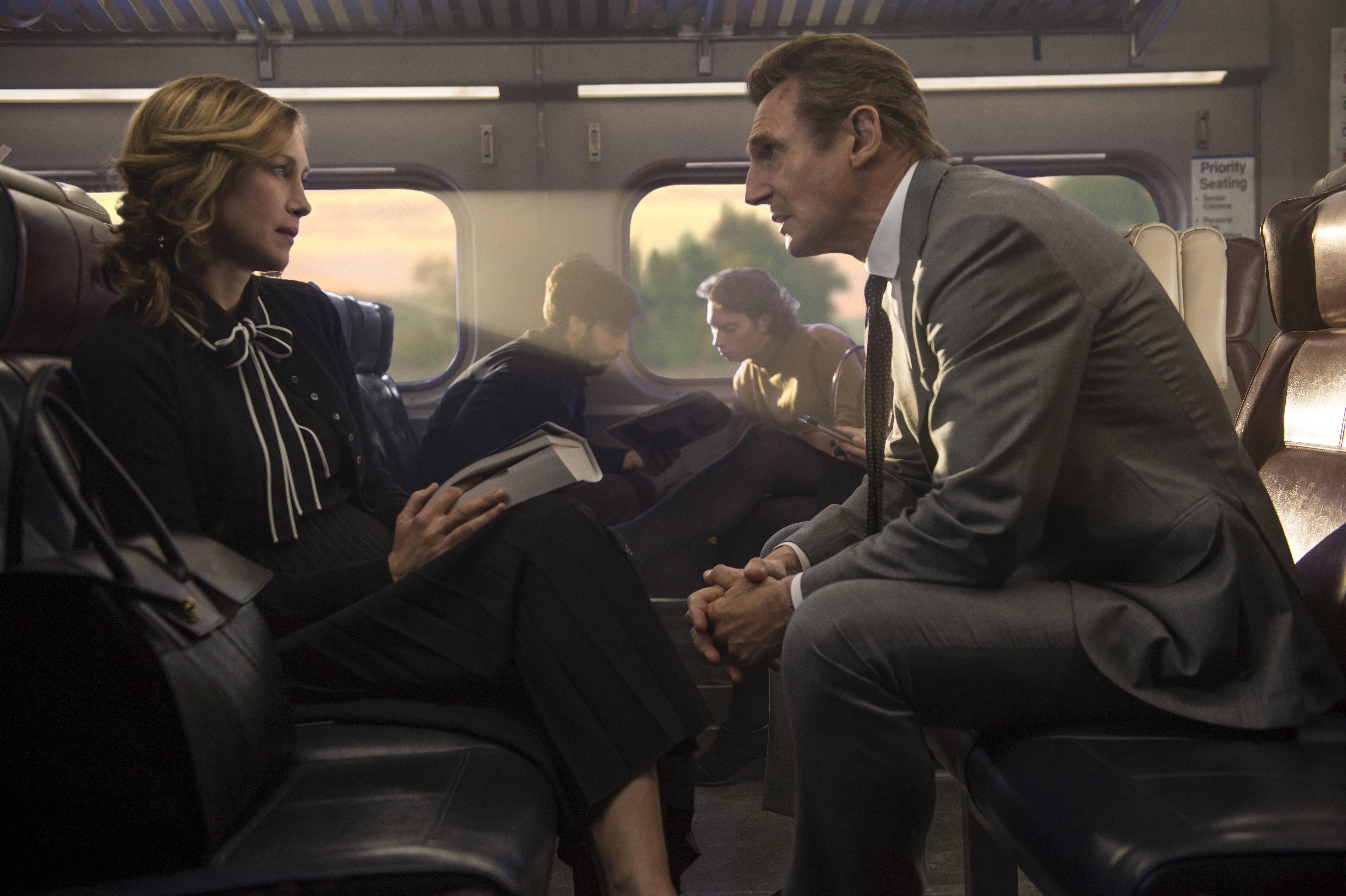Cizinec ve vlaku