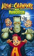 Poster k video filmu  Alvin a Chipmunkové - Setkání s Frankensteinem (video film)