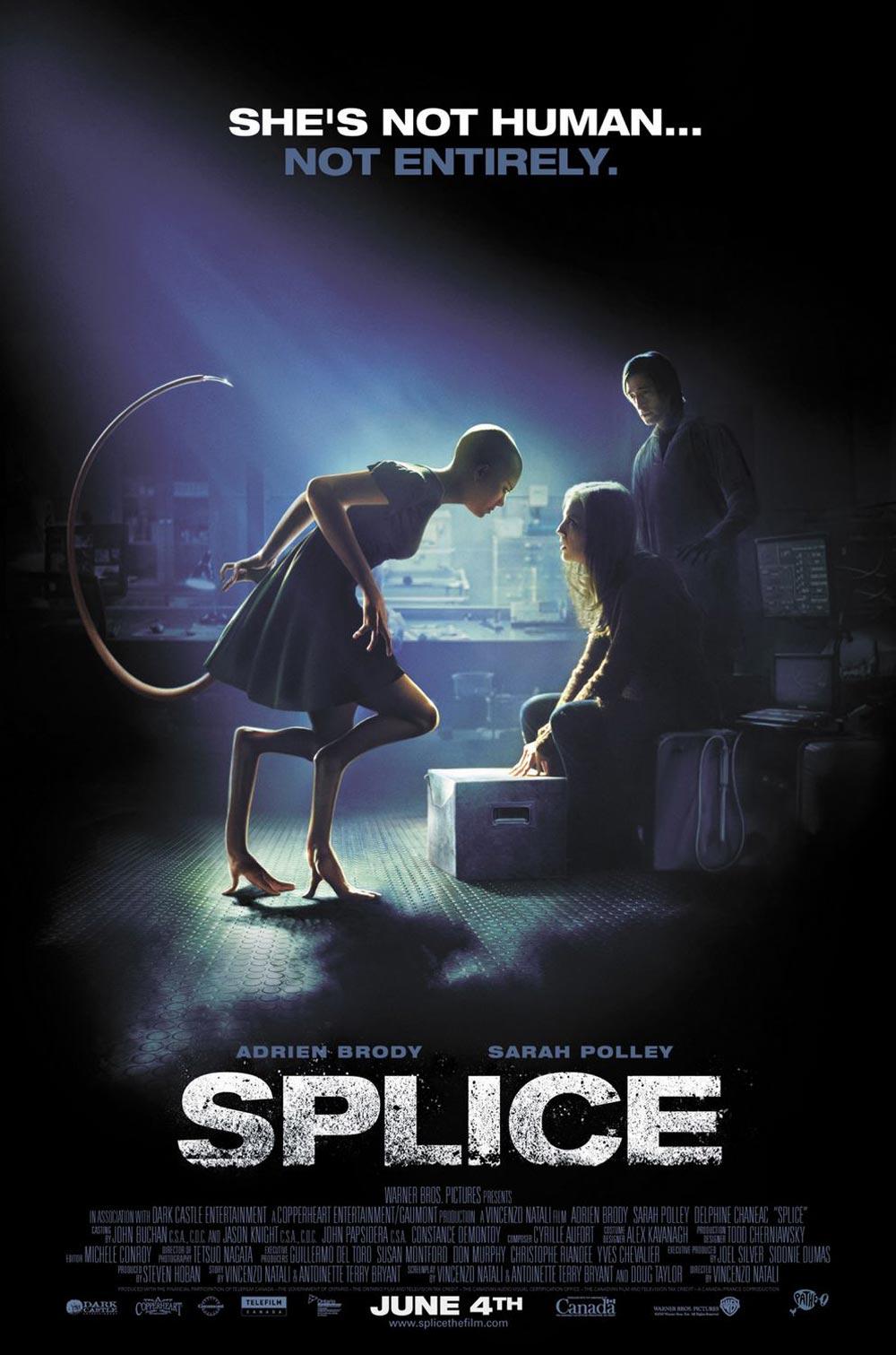 Spustit online film zdarma Splice