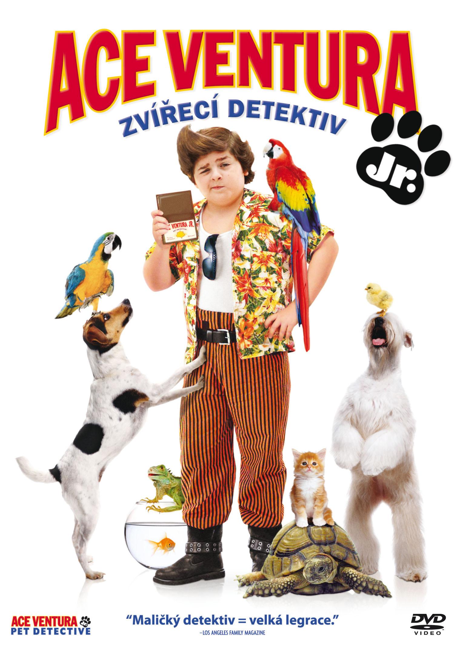 Spustit online film zdarma Ace Ventura Junior: Zvířecí detektiv