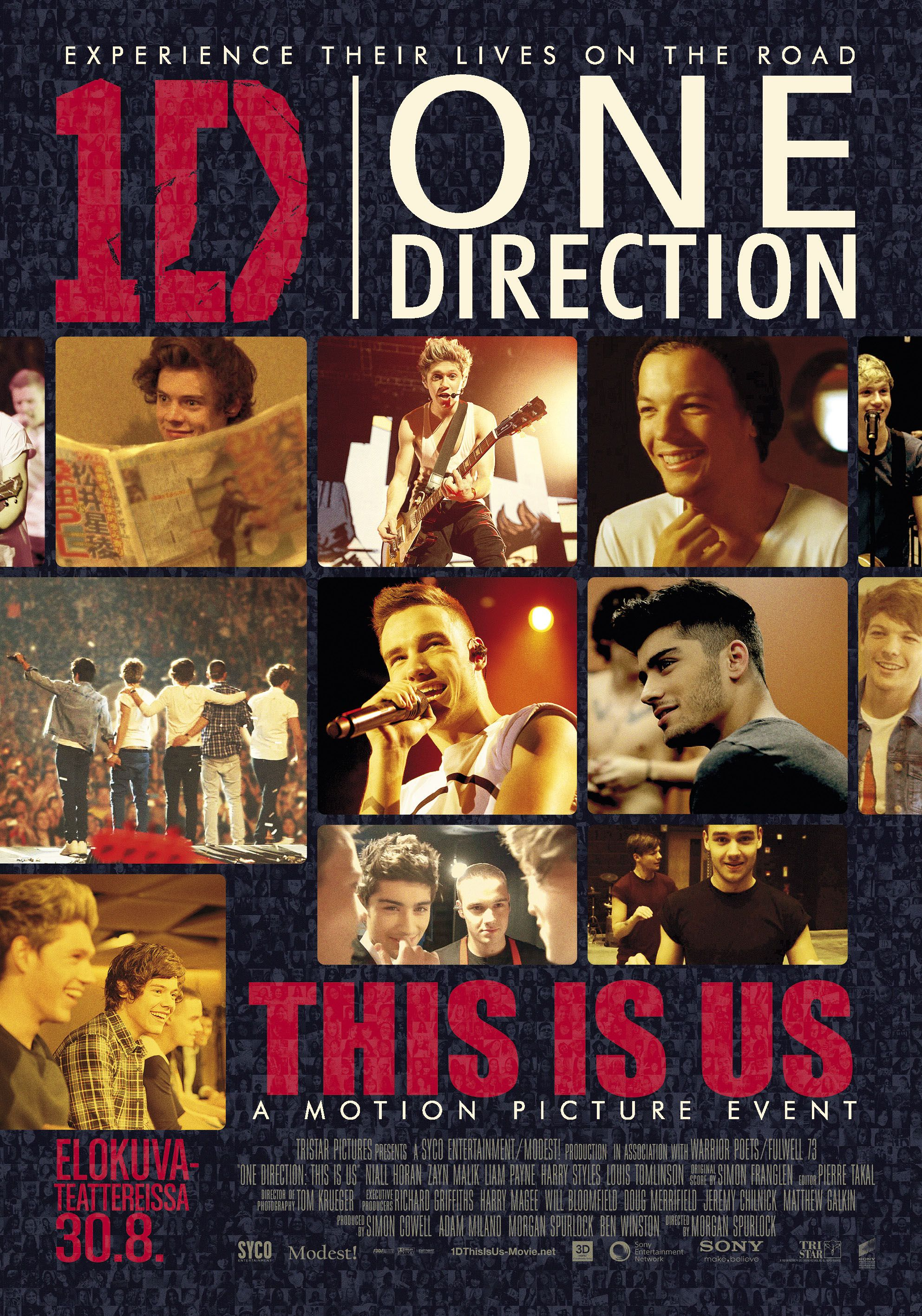 Spustit online film zdarma One Direction 3D: This is Us