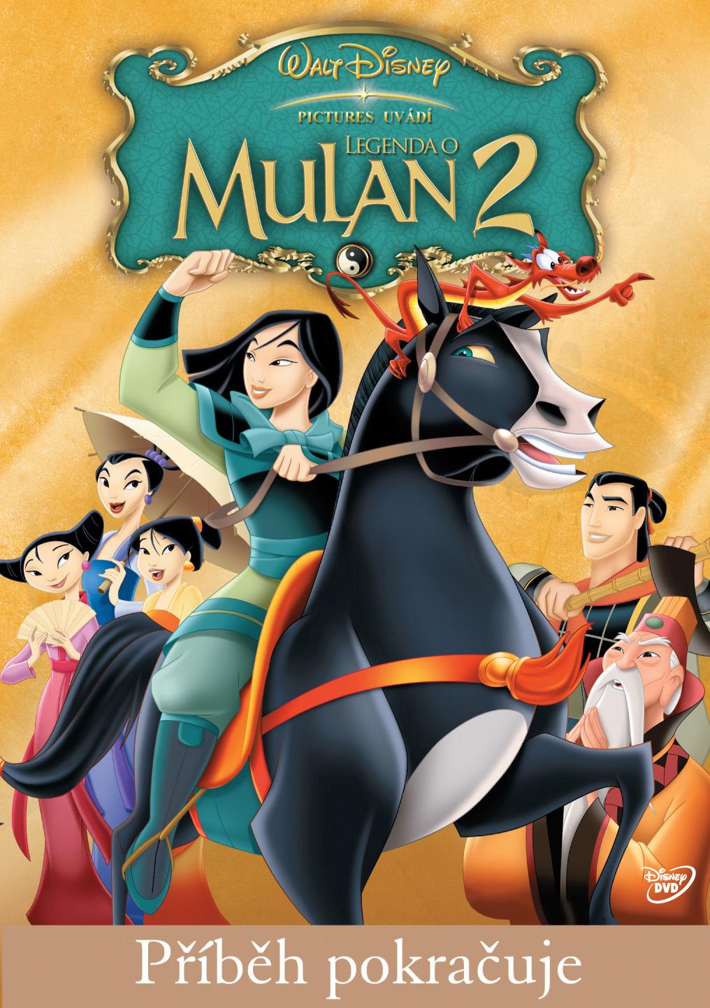 Spustit online film zdarma Legenda o Mulan 2