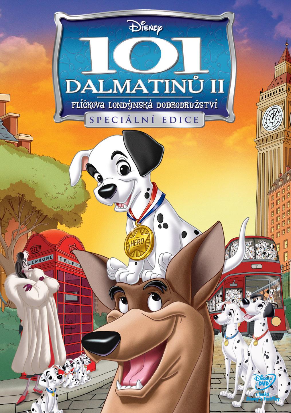 Detail online filmu 101 Dalmatinů II: Flíčkova londýnská dobrodružství ke stažení