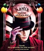 Cover k filmu Karlík a továrna na čokoládu (2005)