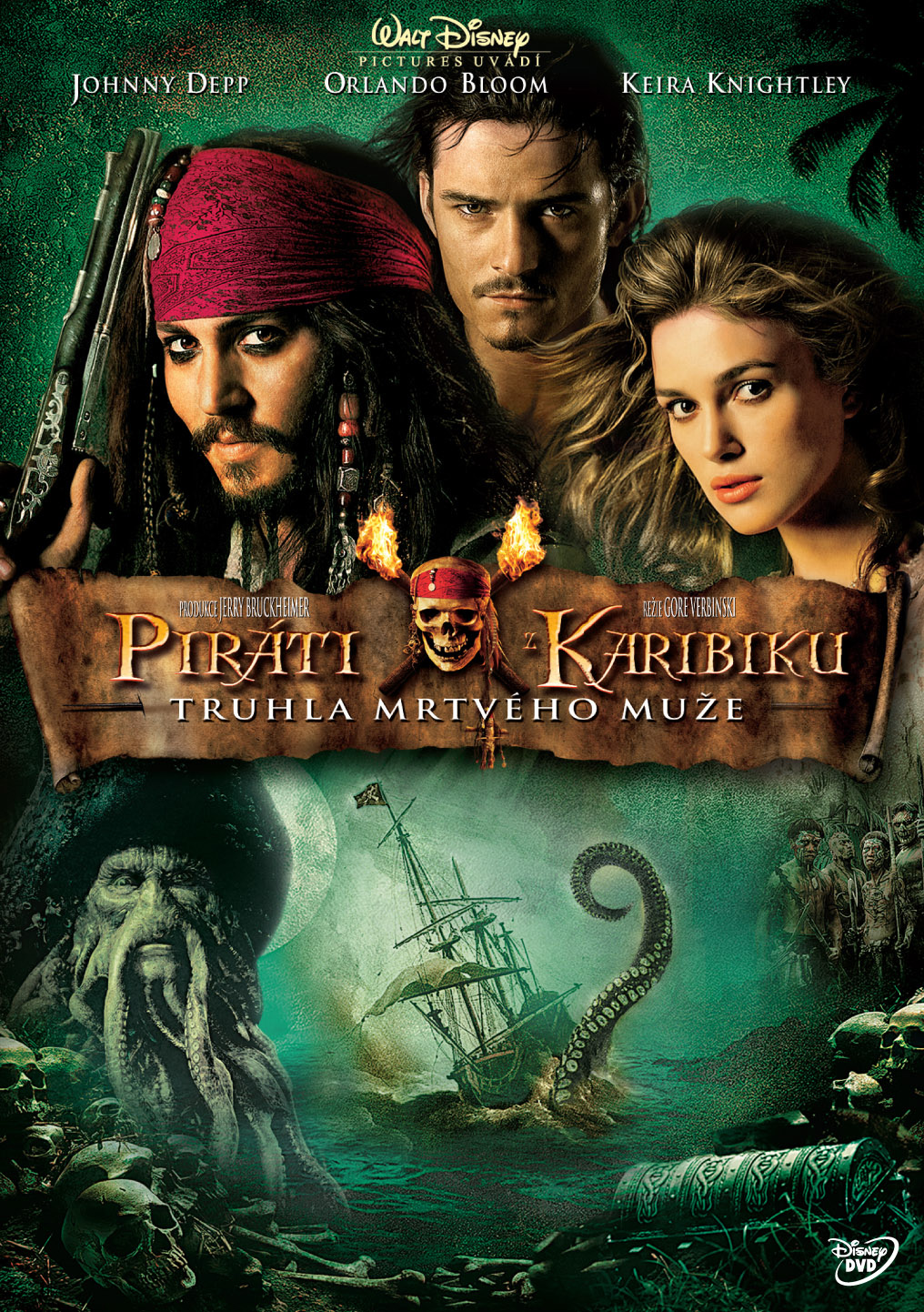 Spustit online film zdarma Piráti z Karibiku - Truhla mrtvého muže