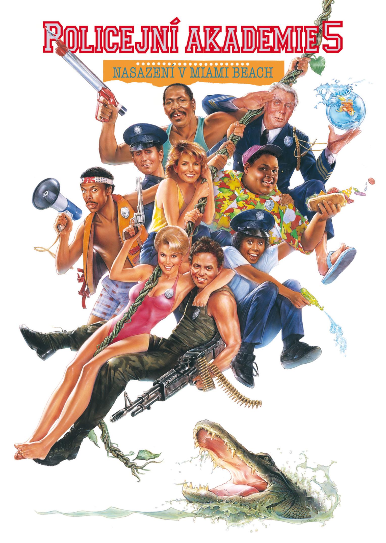 Spustit online film zdarma Policejní akademie 5: Nasazení v Miami Beach