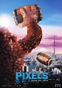 Cover k filmu Pixels (2015)