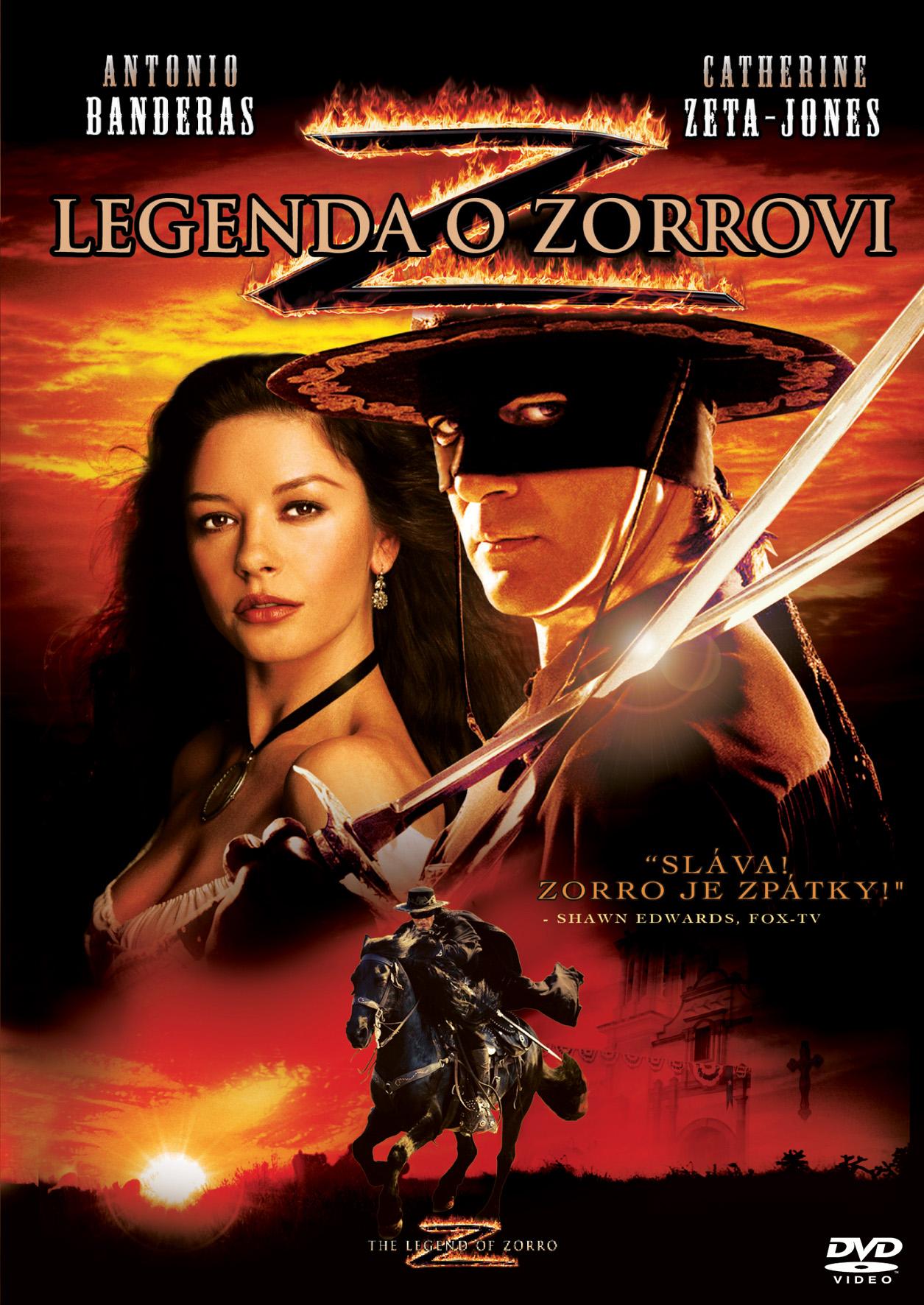 Spustit online film zdarma Legenda o Zorrovi