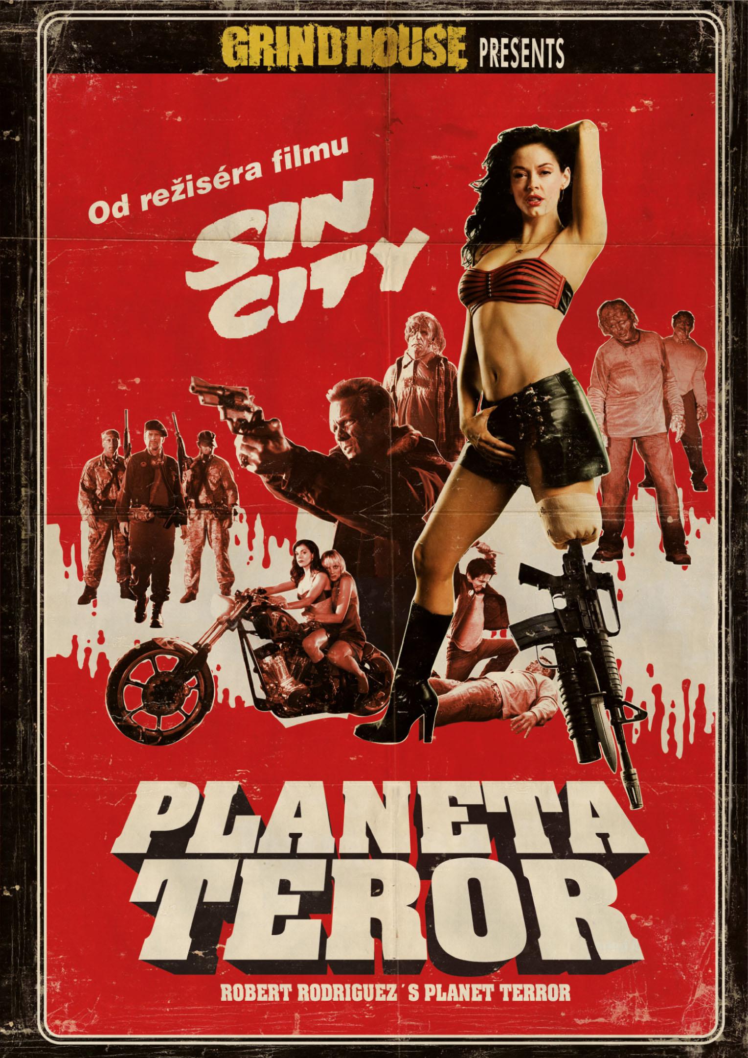 Spustit online film zdarma Grindhouse: Planeta Teror