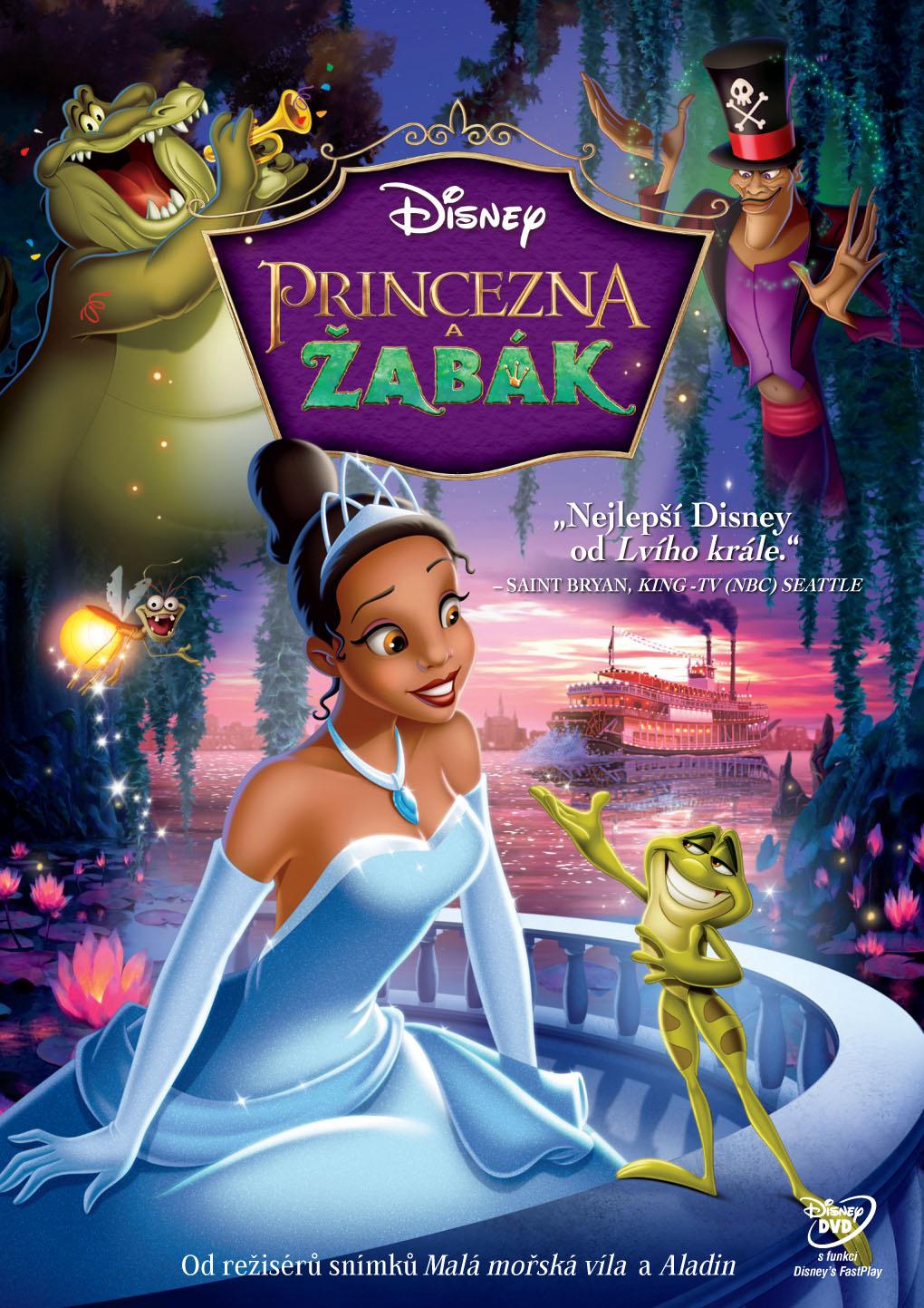 Spustit online film zdarma Princezna a žabák