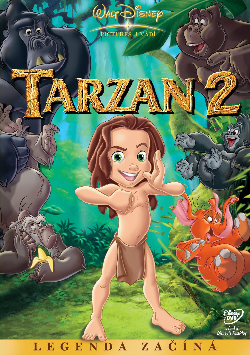 Spustit online film zdarma Tarzan 2