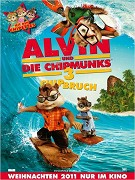 Poster k filmu  Alvin a Chipmunkové 3