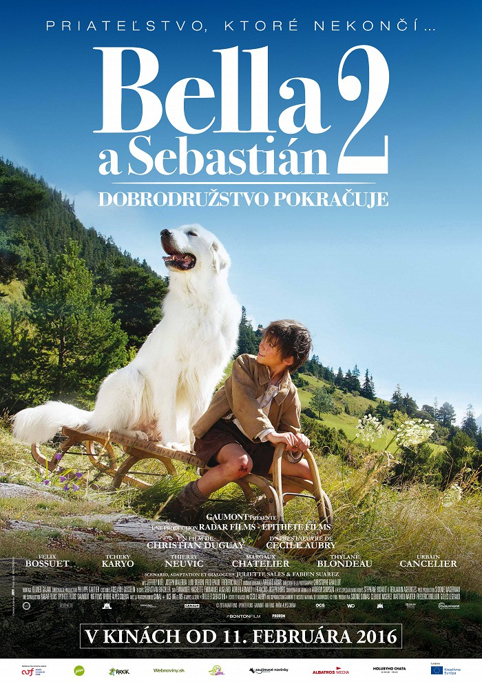 Bella a Sebastian: Dobrodružství pokračuje 2D
