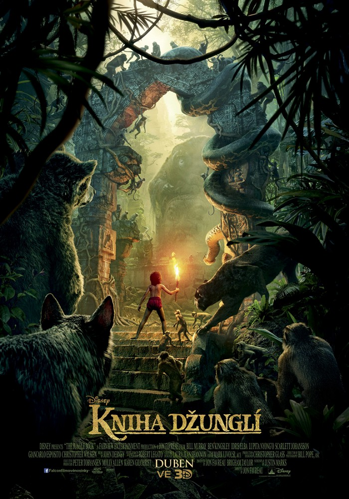 Kniha džunglí 3D