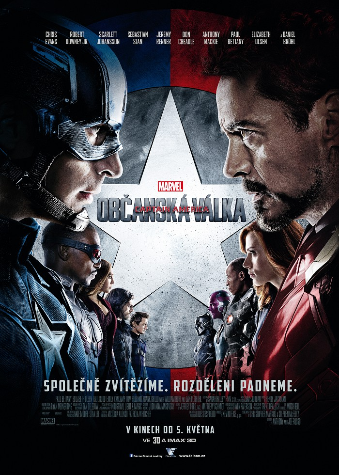 Captain America: Občanská válka 2D