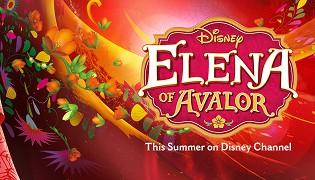 Poster undefined  Elena z Avaloru (TV seriál)