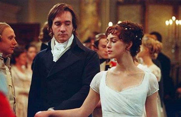 Elizabeth Bennet tančící s panem Darcym...