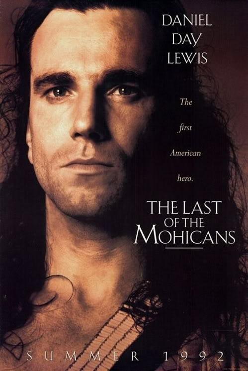 On The Trail Of Last Of The Mohicans-stránka s množstvom fotografií a poznámok z natáčania filmu