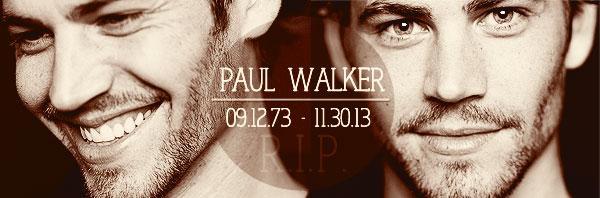 Paul Walker, odpočívaj v pokoji