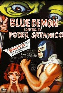 Blue Demon vs. el poder satánico
