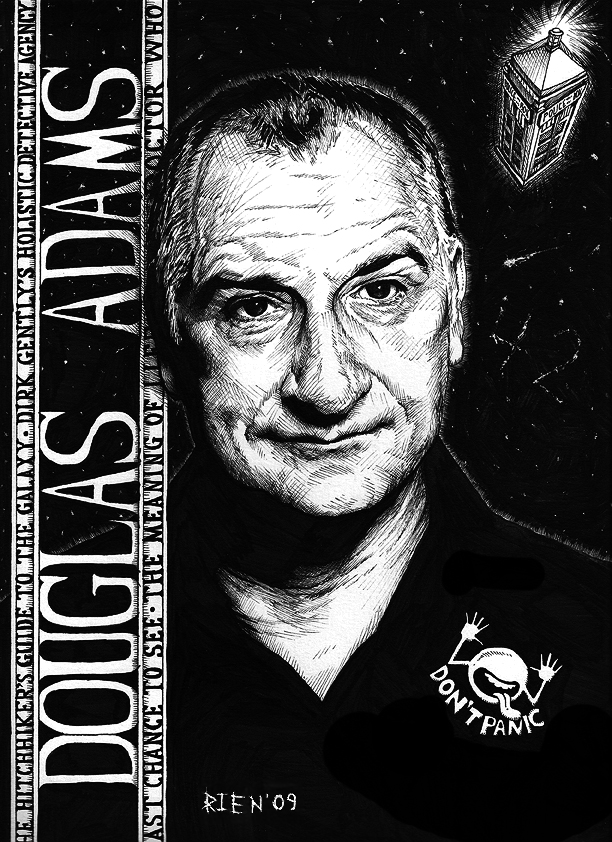 My_Hero__Douglas_Adams_by_pentaclepictur