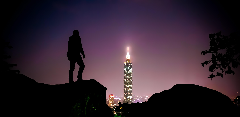selfie s Taipei 101