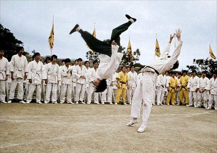 Akrobacie a Taekwondo