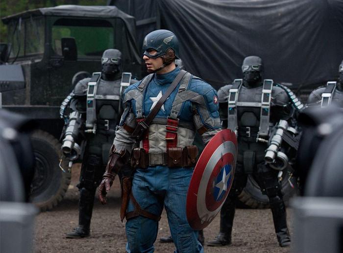 Captain America: Prvý Avenger (2011)