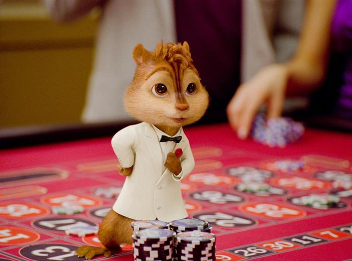 Alvin a Chipmunkovia 3 (2011)