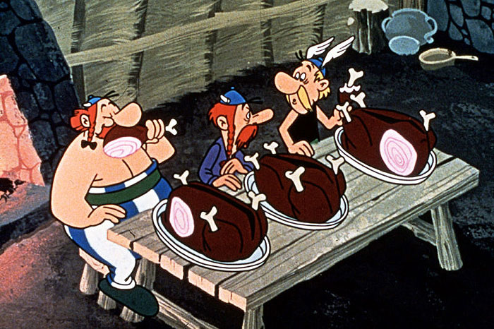 Asterix a Galovia (1967)