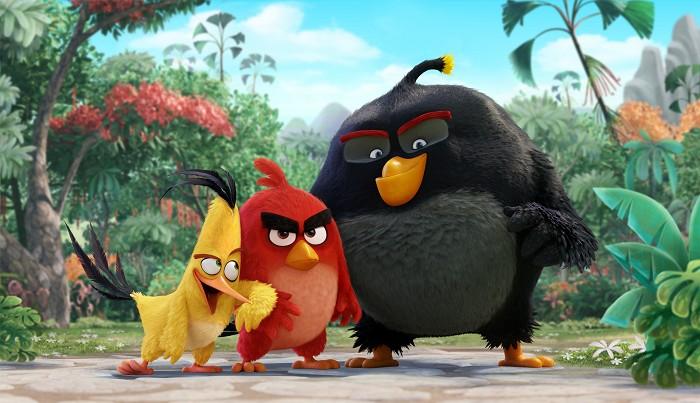 Angry Birds vo filme (2016)