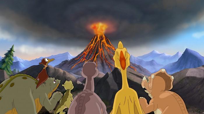 Země dinosaurů 14: Cesta statečných