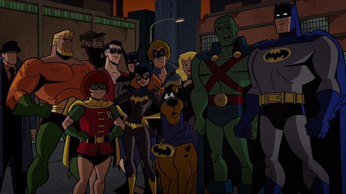 Scooby-Doo a Batman: Spolu a odvážně (2018)