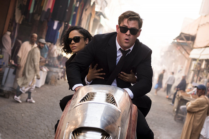 Tessa Thompson, Chris Hemsworth
