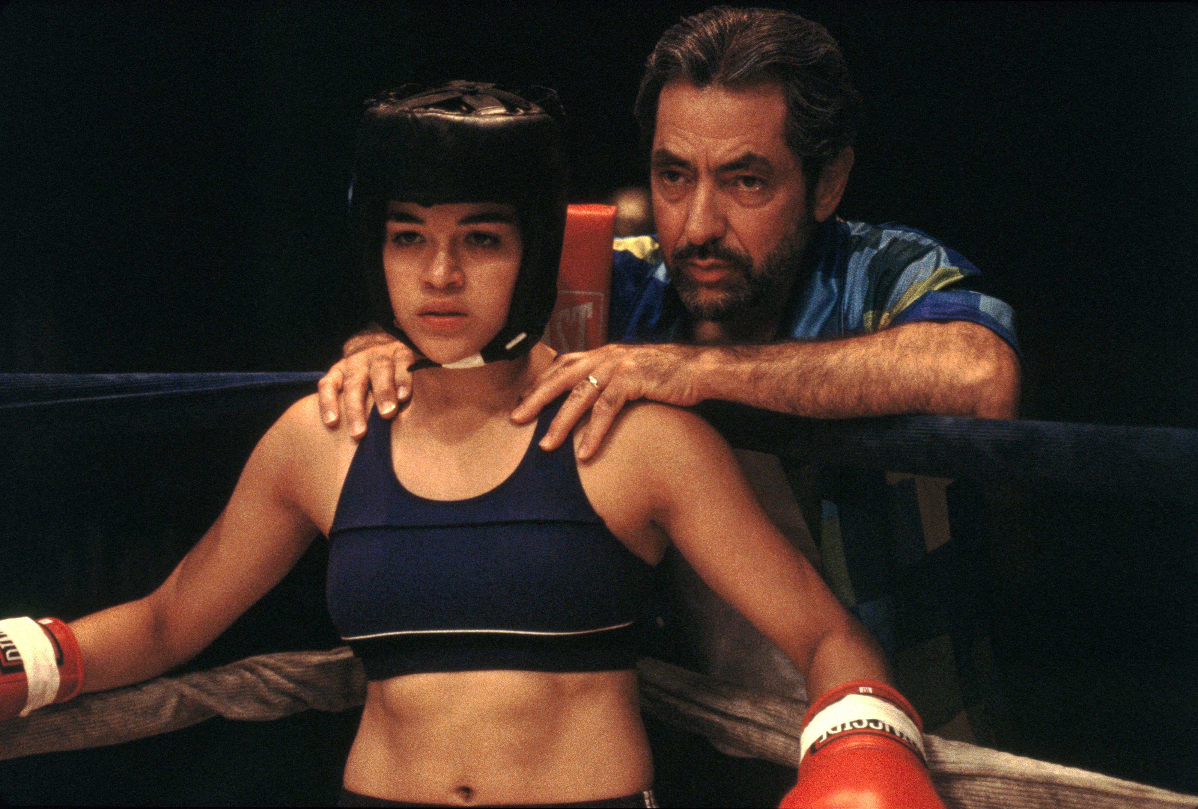 Boxerka herečka