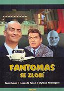 Fantomas se zlobí _ Fantômas se déchaîne (1965)