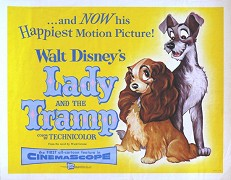 Lady a Tramp _ Lady and the Tramp (1955)