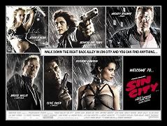 Poster k filmu         Sin City - město hříchu