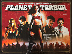 Poster undefined          Grindhouse: Planeta Teror