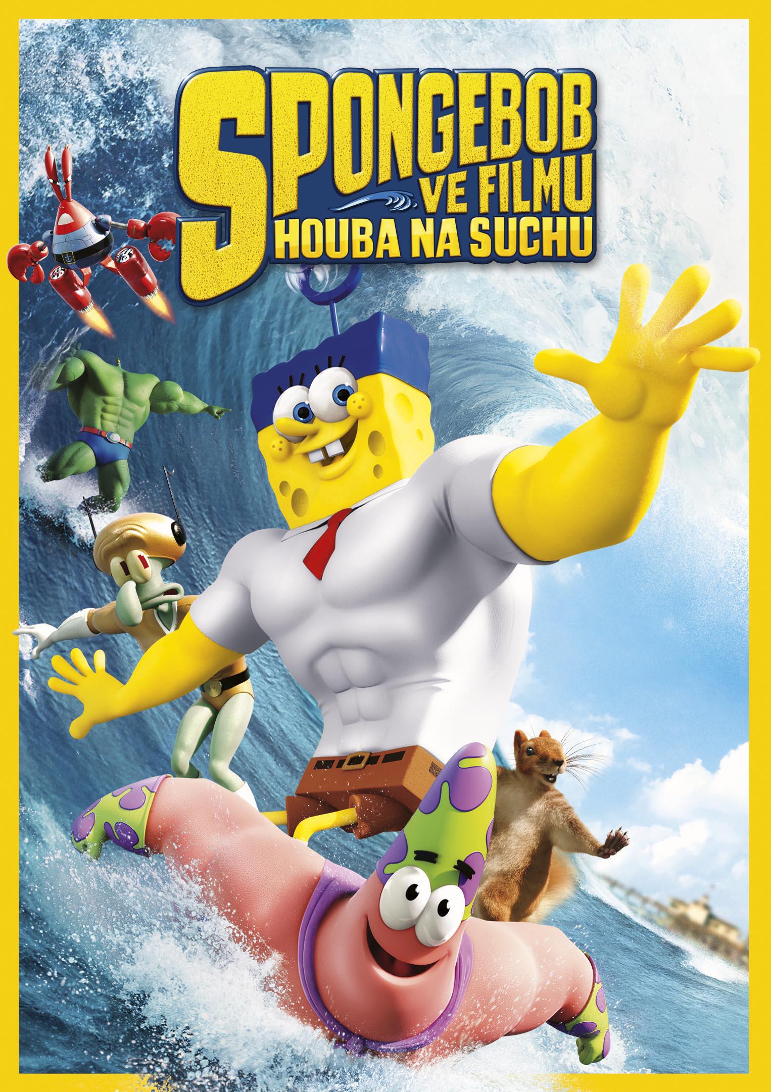 SpongeBob ve filmu Houba na suchu