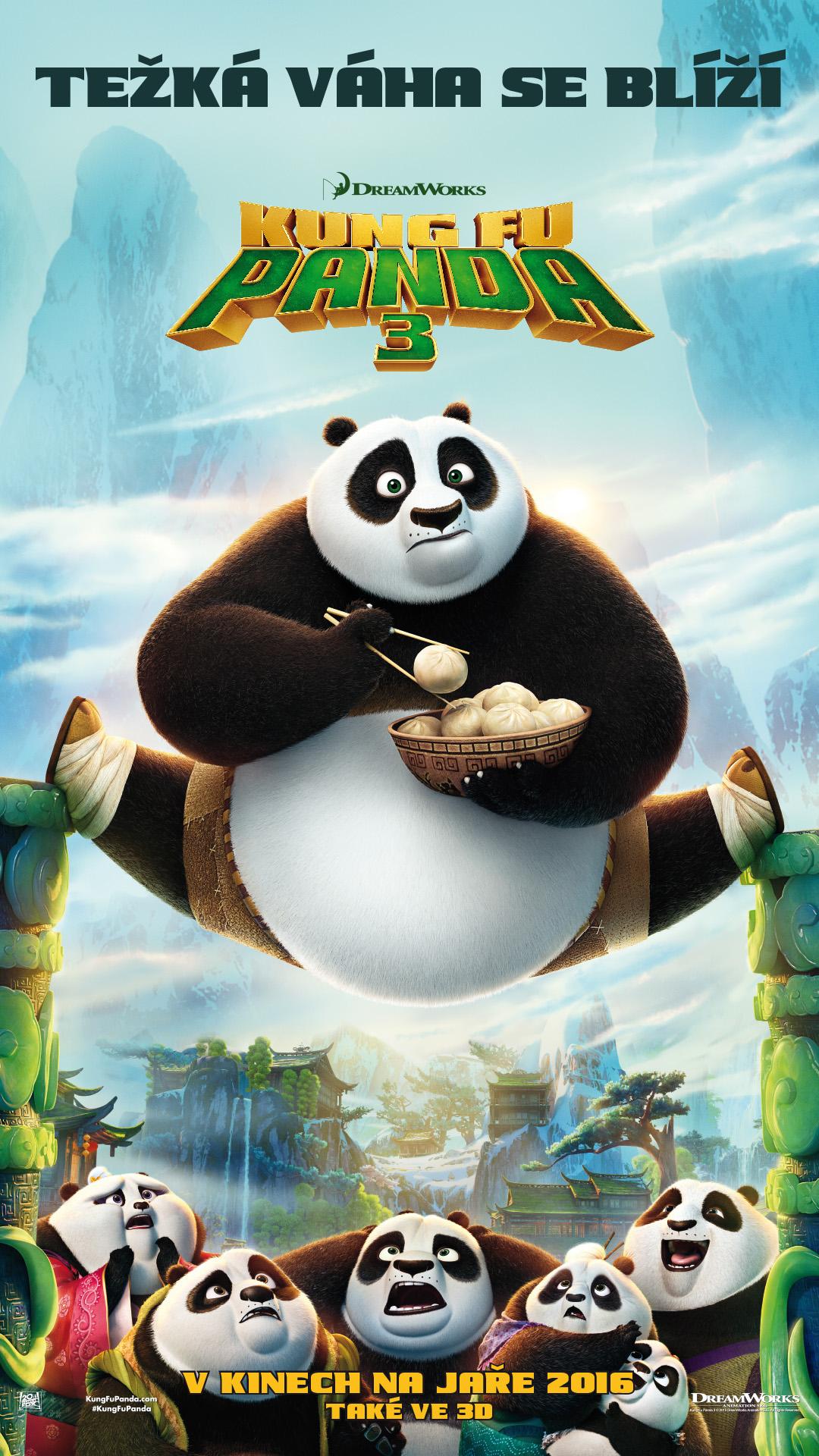 Kung Fu Panda 3 HD (2016)