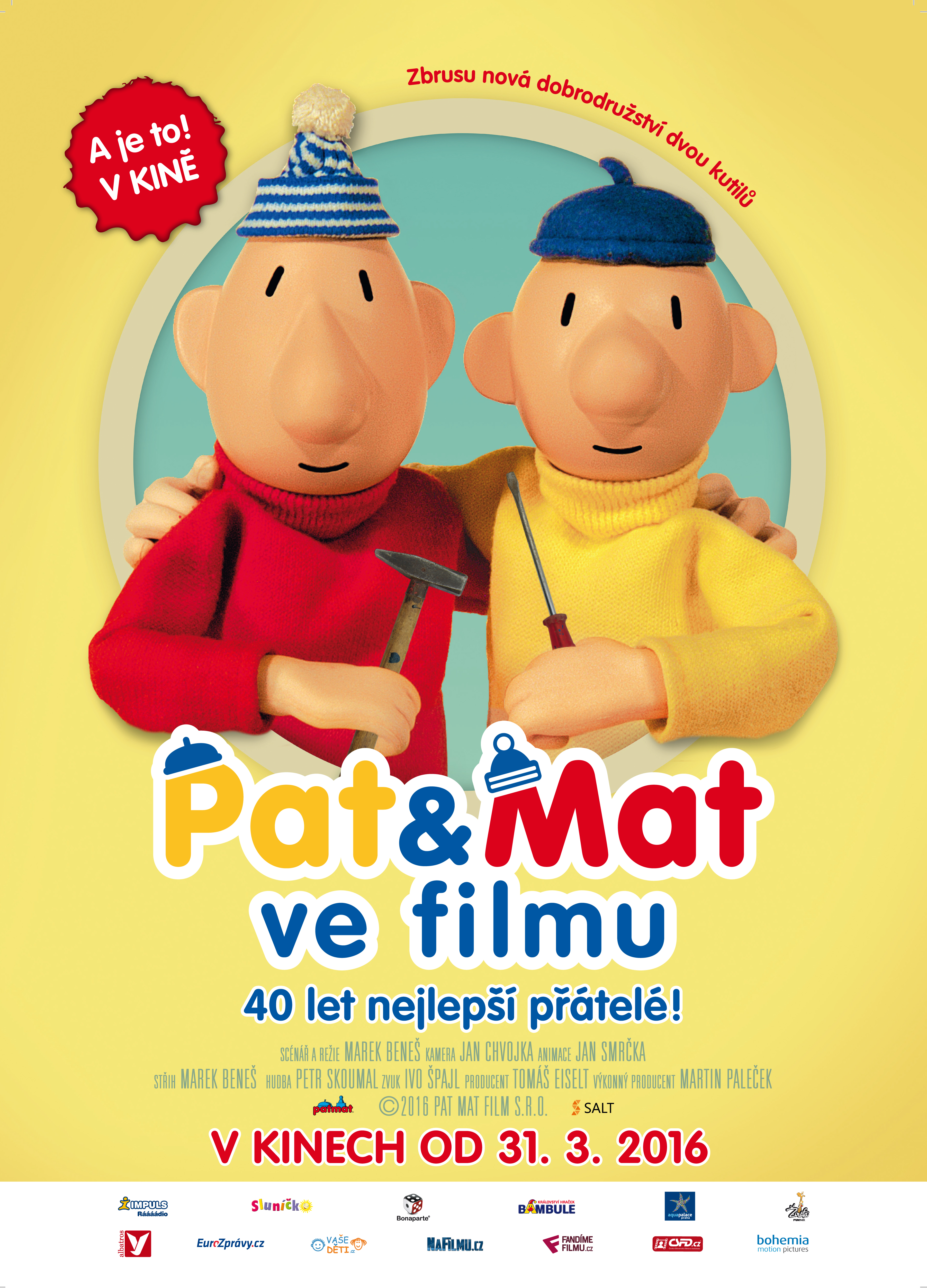 Pat a Mat ve filmu