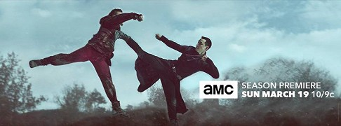 INTO THE BADLANDS       Into the Badlands (TV seriál)