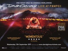 Poster undefined         David Gilmour v Pompejích (koncert)