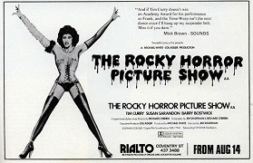 Poster undefined          The Rocky Horror Picture Show