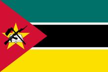 Vlajka Mosambiku